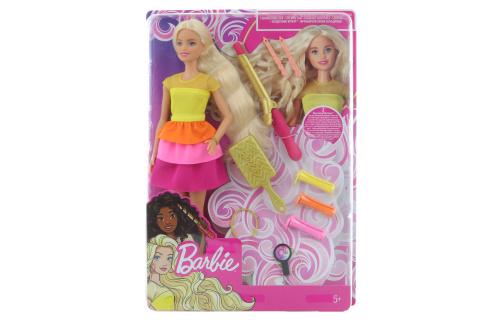 Barbie Panenka s vlnitými vlasy GBK24