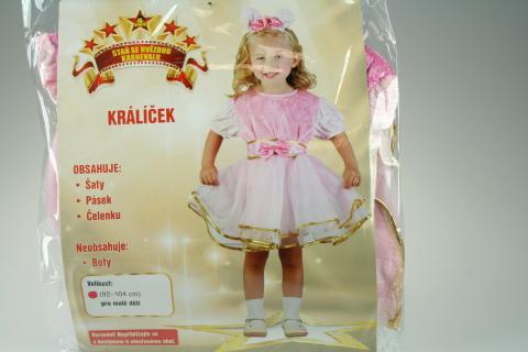 Šaty Králíček 92 - 104 cm