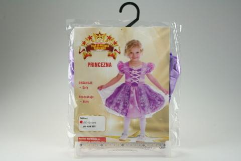Šaty na karneval - Princezna, (92 - 104 cm)