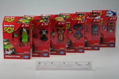 Angry Birds go rowdy racers