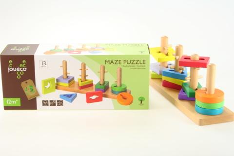 Vkládačka - puzzle dřevěné