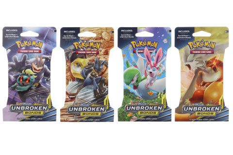 Pokémon Unbroken Bonds 1 Blister Booster