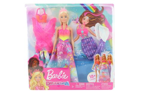 Barbie panenka a pohádkové doplňky GJK40