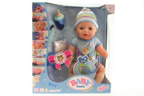 Interaktivní BABY born, chlapec TV 1.10.-31.12.2017