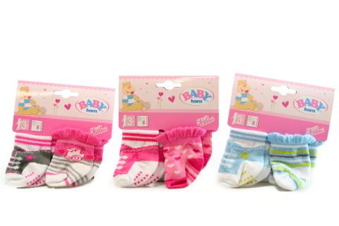 BABY born Ponožky (2 páry), 3 druhy