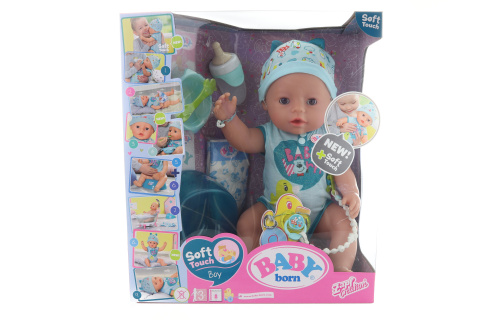 Interaktivní BABY born, 43 cm, chlapec TV 1.4. - 30.6.2019