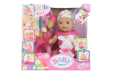 BABY born Soft Touch Little holčička, 36 cm TV 1.9.-31.12.2020