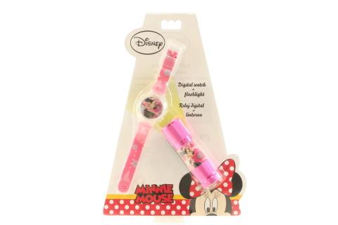 Hodinky + baterka Minnie