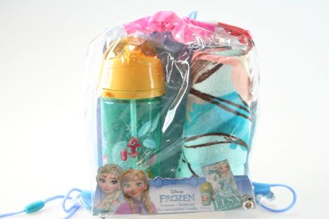 Lahev a ručník Frozen