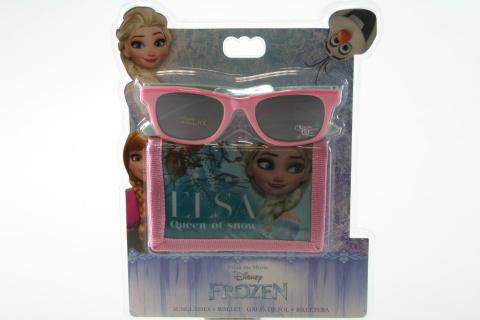 Peněženka a brýle Frozen