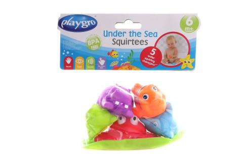 Playgro - Mořská zvířátka 5ks