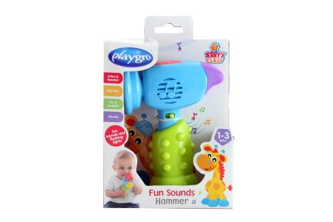 Playgro - Veselé kladivo se zvuky