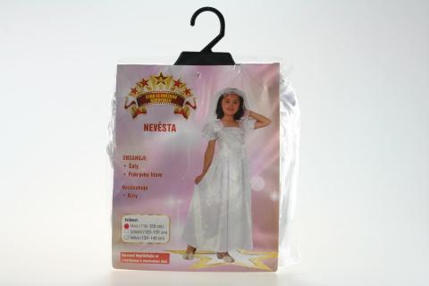 Šaty Nevěsta 110-120cm
