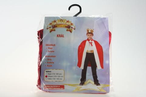 Šaty Král 120-130cm