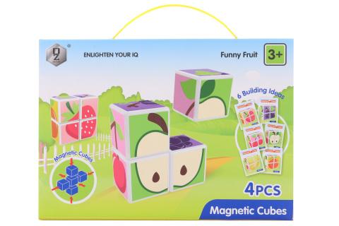 Magnetické kostky ovoce