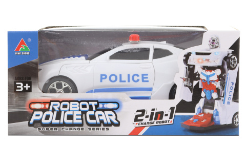 Robot policejní auto na baterie