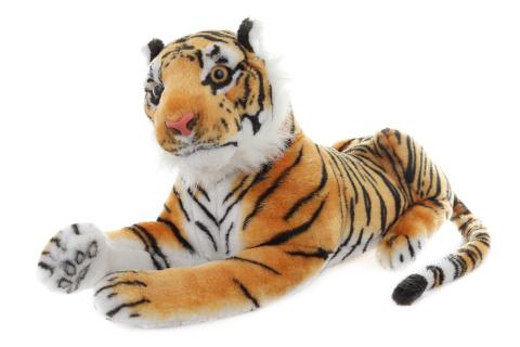 Plyš Tygr hnědý 55 cm