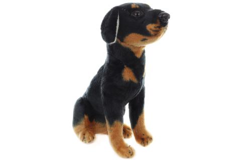 Plyš Pes černý 24 cm
