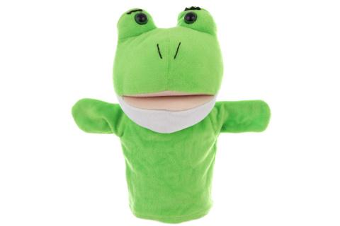 Plyš maňásek žába