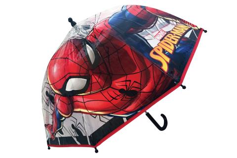 Deštník Spider-Man manuální průhledný