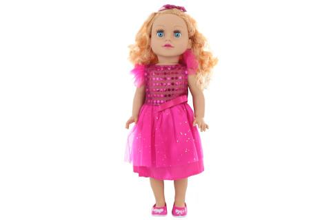 Panenka kudrnatá blondýnka 45 cm v sáčku