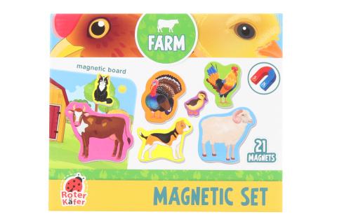 Magnety s tabulkou - domácí zvířátka