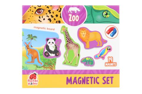 Magnety s tabulkou - ZOO