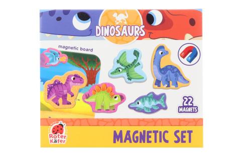 Magnety s tabulkou - dinosauři