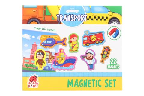 Magnety s tabulkou - dopravní prostředky