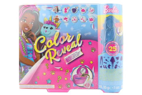 Barbie Color reveal fantasy jednorožec GXV95